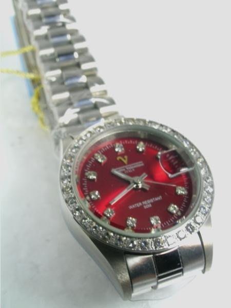 六四三鐘錶精品店@Valentino(真品)手錶來自義大利的品牌珠寶純手工爪鑲嵌水晶鑽