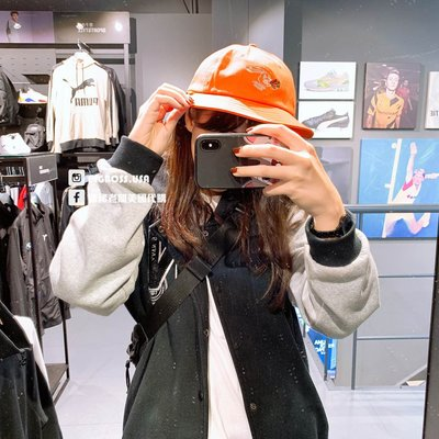 【豬豬老闆】PUMA x RDET 聯名 橘 運動 休閒 復古 男女 漁夫帽 02259001