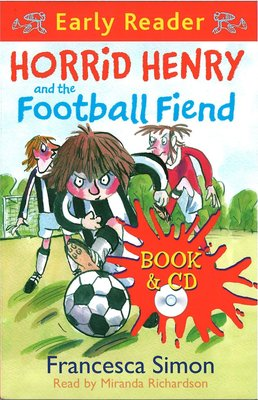 *小貝比的家*HORRID HENRY AND THE FOOTBALL FIEND/平裝書+CD/7~12歲