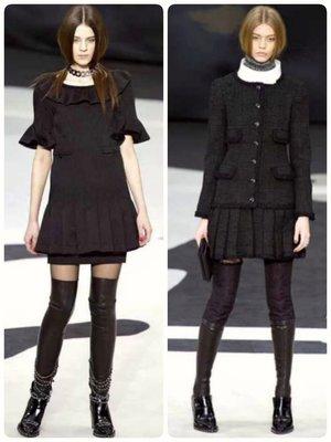 Chanel ❤️ 走秀款 連身裙 洋裝 34
