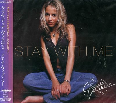 K - CLAUDIA VAZQUEZ - STAY WITH ME - 日版 - NEW