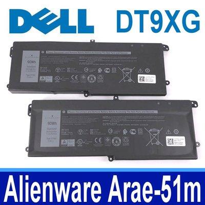 DELL DT9XG 原廠電池 07PWXV Alienware  Area 51m i9-9900K RTX 2080