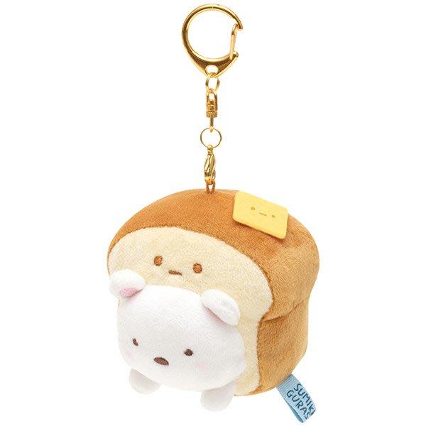 《FOS》2019新款 日本 角落生物 麵包 可愛 背包 吊飾 鑰匙圈 玩具 玩偶 雜物 小物 角落小夥伴 公仔 禮物