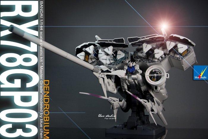 HG 1/144 RX-78GP03鋼彈改造塗裝完成展示品(鋼彈模型代工)