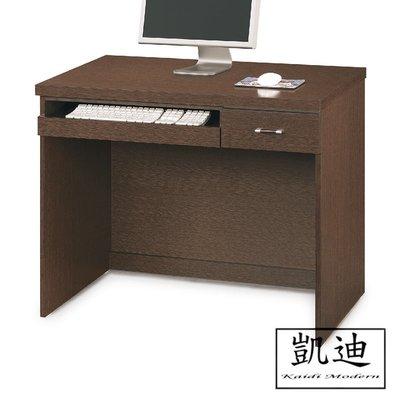 【凱迪家具】F32-461-2646 黑桃3尺電腦桌 /大雙北市區滿五千元免運費