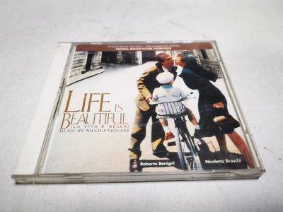 昀嫣音樂(CD3) LIFE IS BEAUTIFUL - NICOLA PIOVANT 片況如圖 售出不退 可正常播放