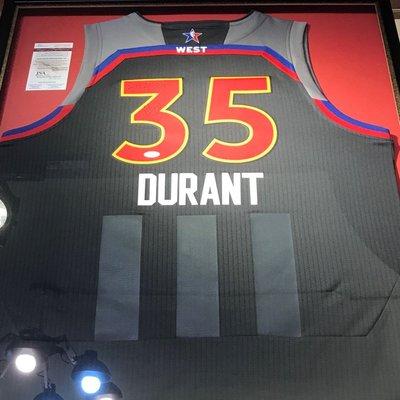 2017 Durant 明星賽球衣。