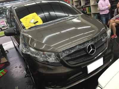 BENZ VITO 引擎蓋貼膜 引擎蓋犀牛皮 CLA GLA W205 GLC GLE GLS A250 商業用車