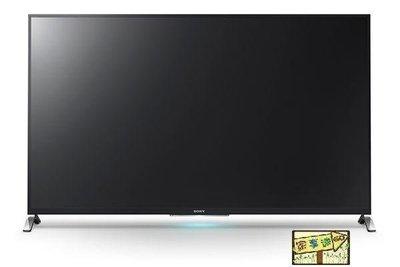 [家事達] SONY 新力 (KDL-65W950B) 65吋3D WiFi LED液晶電視 特價---台中可自取
