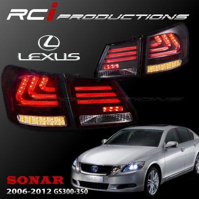 RC HID LED專賣店 LEXUS GS300 GS350 GS430 LED 光柱型 尾燈組 LED方向燈