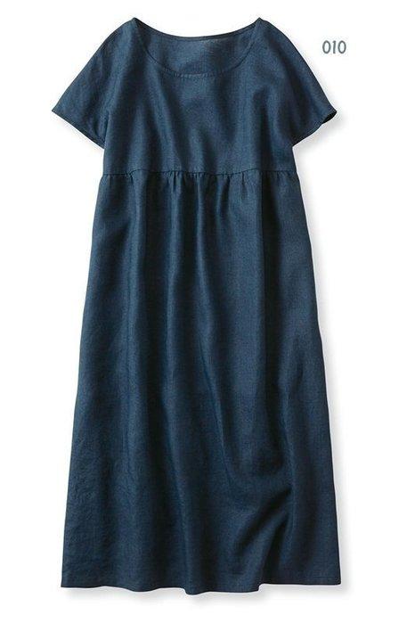 Syrup 超人氣連載定番款 棉麻素材 短袖連身裙 (現貨款特價) 新色到!
