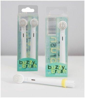 牙齒寶寶 澳洲 Jack n Jill BUZZY BRUSH電動音樂牙刷–補充刷頭(2入裝)