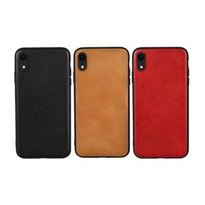 【愛瘋潮】JISONCASE Apple iPhone XR 真皮保護殼 背殼 真皮 手機殼預購