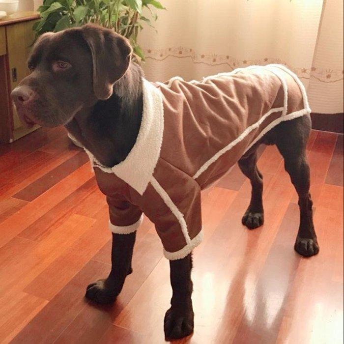 狗狗衣服冬裝金毛中型大型犬寵物柯基法斗小型犬邊牧拉布拉多大狗【店慶活動明天結束】