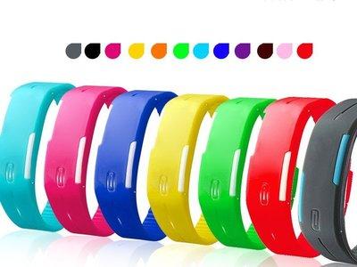LED發光 果凍錶 手環錶 路跑錶 運動錶 手表 手錶【神來也】