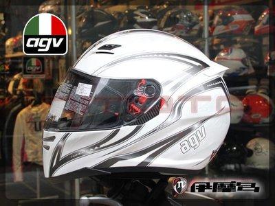 伊摩多※義大利 AGV STEALTH SV  FLORENCE 白銀灰XL 零碼出清 全罩 安全帽 內墨片 彩繪