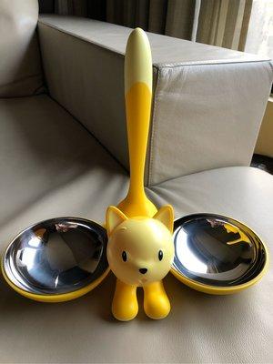 [熊熊之家3]保證正品 Alessi 寵物食物盤  貓碗