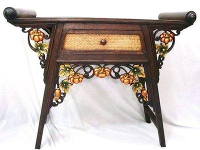 INPHIC-東南亞 家居 飾品 泰式飯店 會所 木雕 小傢俱 桌子 D款