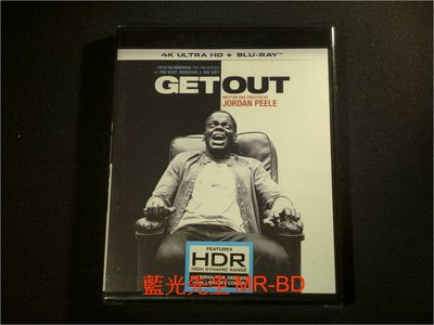 [4K-UHD藍光BD] - 逃出絕命鎮 Get Out UHD + BD 雙碟限定版