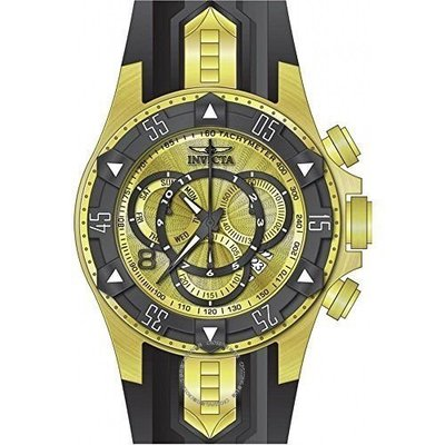 Invicta  Excursion 24276  Silicone, Stainless Steel Chronograph  Watch