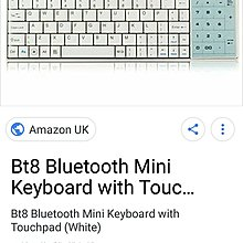 270, Bluetooth  keyboard with touch & number pad , 100%work,  CALL :5693-6596