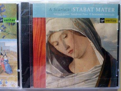 A Scarlatti Stabat Mater聖母悼歌 Virgin古典音樂CD 全歌詞