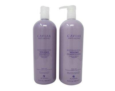 ※美國代購-潔潔小屋※Alterna Caviar volume 魚子醬彈力豐盈洗髪 護髪--1000ml