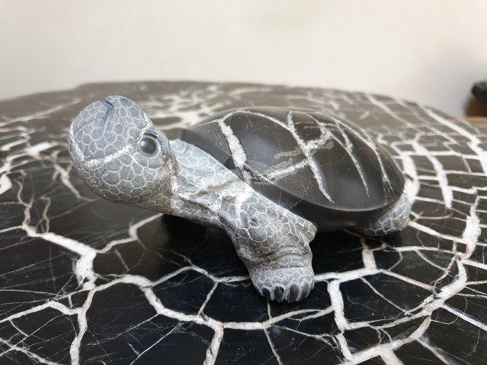 上和茶軒*台灣本土石雕龜作家 : 天淪人 老師*龜甲石,石雕烏龜!