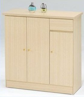 桃園國際二手貨中心 --- 3尺鞋櫃 共兩色可選(白橡色+胡桃色)