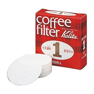【豐原哈比店面經營】KALITA 1號丸型濾紙-100枚入 現貨供應