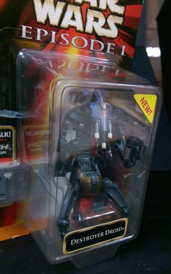 STAR WARS 星際大戰首部曲 威脅潛伏 DESTROYER DROID 毀滅者機器人  天富玩具店