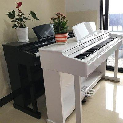 電鋼琴88鍵重錘 專業成人智慧家用數碼電鋼兒童教學電子琴 igo全館免運