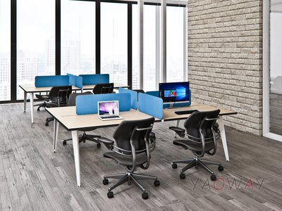 【耀偉】JRP系統工作站 (辦公桌/辦公屏風-規劃施工-拆組搬遷工程-組合隔間-水電網路)1