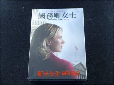 [DVD] - 國務卿女士 : 第三季 Madam Secretary 六碟精裝版 ( 得利公司貨 )