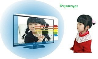 [升級再進化]FOR 山水 SLED-5014 Depateyes抗藍光護目鏡 50吋液晶電視護目鏡(鏡面合身款)