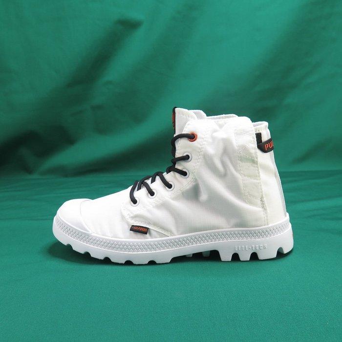 【iSport愛運動】Palladium 高統靴 公司正品 76260100 白 男女款 情侶鞋