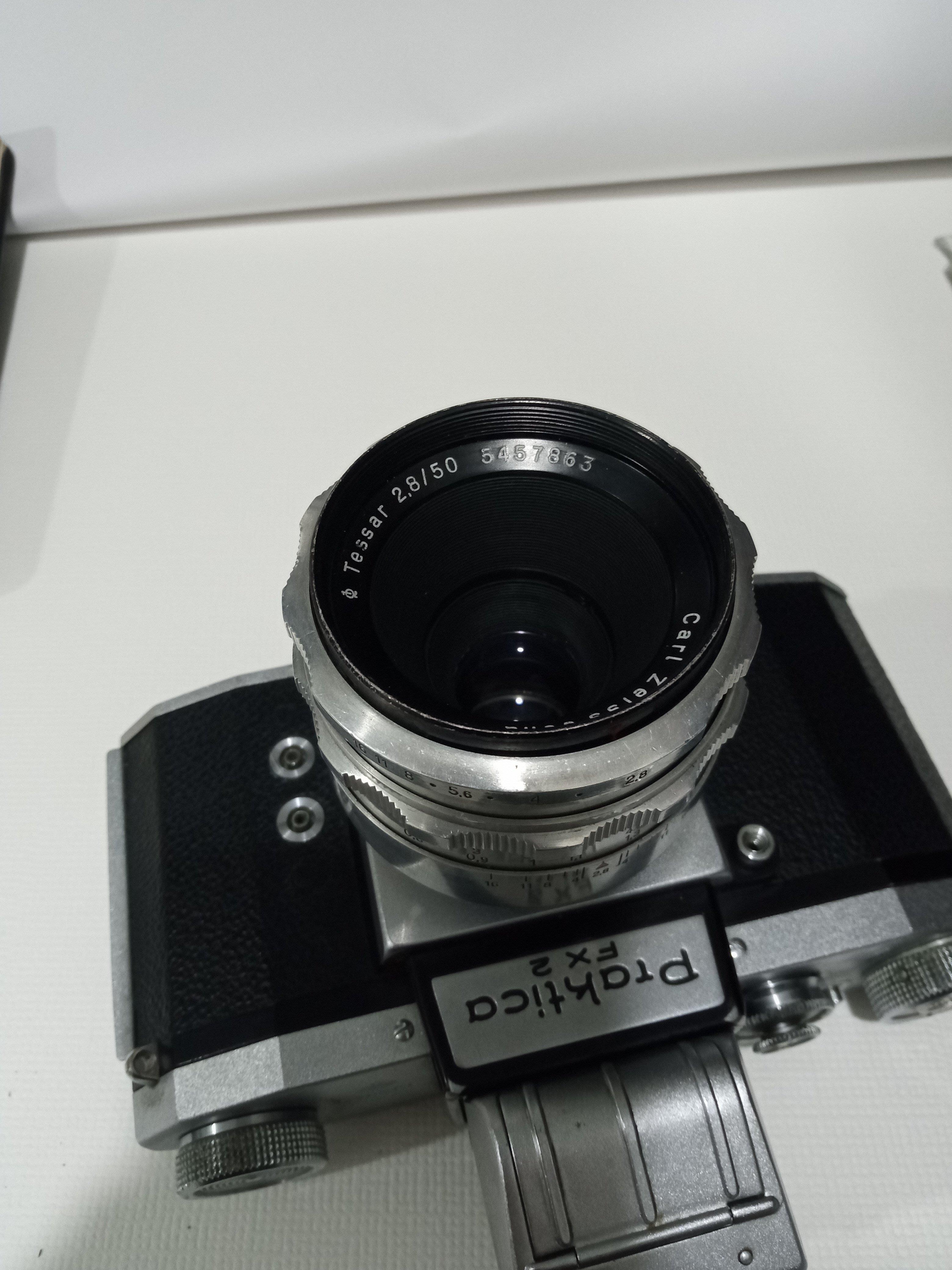 百年鷹眼 - Carl Zeiss Jena Tessar 50mm F2.8  M42 名鏡 百年鷹眼