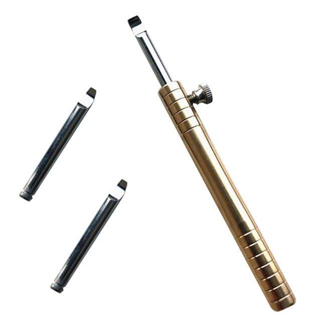 修表工具 銅柄撬刀 撬底蓋刀 翹手表後蓋工具 全鋼撬底刀 開後蓋