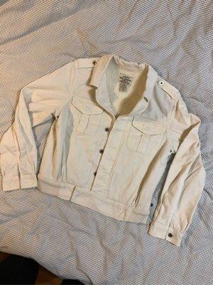 Polo Ralph Lauren 女版白色燈芯絨鋪棉外套