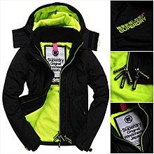 零碼特價XS 極度乾燥 Superdry Arctic Windcheater jacket 風衣 刷毛 外套 螢光萊姆