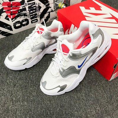 運動潮牌代購~NIKE耐克女鞋2021秋季款AIR MAX 2X氣墊運動休閒鞋CK2947-100-102