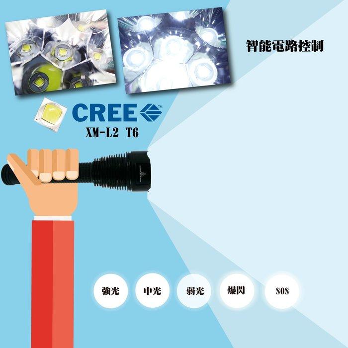 綠能基地㊣Trust Fire 手電筒 led燈具 警用 led手電筒 led照明燈 巡邏 海巡 保全 TR-J18