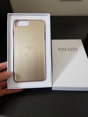 全新 KENZO I7 plus GOLD(金色)手機機殼 低調有質感 虎頭