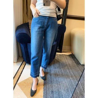 《巴黎拜金女》型細節真心不一樣一看就是下過功夫的斜門襟牛仔褲
