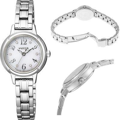 日本正版 CITIZEN 星辰 wicca KH9-914-15 手錶 女錶 太陽能充電 日本代購