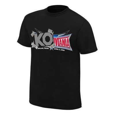 WWE摔角衣服 Kevin Owens 凱文·歐文斯 KO 黑色短袖T恤 買三免運