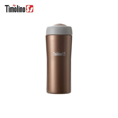 Timolino 隨身杯200ml  (不鏽鋼保溫杯) 咖啡金