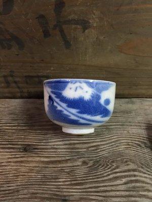 手繪老富士山茶杯