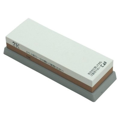 一鑫餐具【日本製 貝印 KAI 雙面磨刀石 500/1200番 DH-5265】雙面砥石