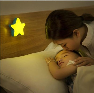 遙控小夜燈護眼充電臥室床頭